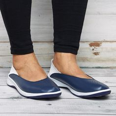 Flat Heel Paneled Comfort Flats – cuteshoeswear how to wear loafers loafers outfit work loafers outfit fall loafers with socks loafers style Loafers With Socks, How To Wear Loafers, Loafers Outfit, Casual Loafers, Loafers For Women, Loafer Flats, Outfit Work, Comfortable Flats, Leather Heels