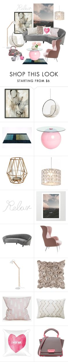 """""""Airspace"""" by hiddensoulmemories ❤ liked on Polyvore featuring interior, interiors, interior design, home, home decor, interior decorating, Umbra, Innermost, PBteen and Eichholtz"""
