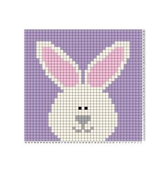 Good Cost-Free Knit crochet repeat crafter me Thoughts Crochet Bunny Blanket – Repeat Crafter Me Pixel Crochet, C2c Crochet, Easter Crochet, Crochet Bunny, Crochet Chart, Crochet Blanket Patterns, Baby Blanket Crochet, Baby Knitting Patterns, Cross Stitch Patterns