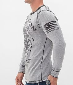 Affliction Encounter Reversible Thermal Shirt - ༺ß༻