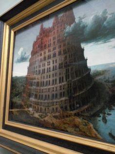 De Toren van Babel, door Pieter Bruegel
