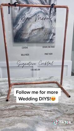 Wedding Signs, Our Wedding, Dream Wedding, Rustic Wedding, Wedding Ideas, Birthday Balloon Decorations, Diy Wedding Decorations, Party Planning, Wedding Planning