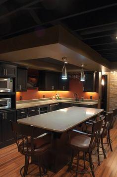 Kitchen Area instead of Bar