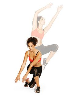 Legs feeling a little jiggly? Add the Curtsy Reach to your #workout to firm up fast.
