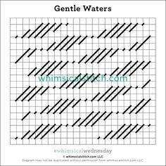 #whimsicalwednesday blog — whimsicalstitch.com Needlepoint Stitches, Needlepoint Canvases, Needlework, Embroidery Stitches Tutorial, Embroidery Designs, Long And Short Stitch, Baby Blocks, Bargello, Darning