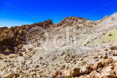 Qdiz Stock Images View on Teide Volcano Crater