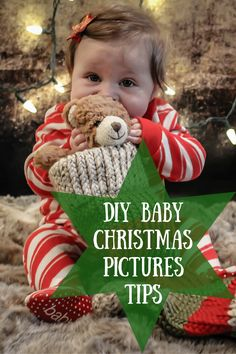 Learn how to take the perfect Christmas baby photos with these DIY photo tips.