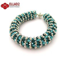 Beading Tutorial for O-Caribbean Bracelet is very detailed with clear beading instructions, step by step and with photos of each step.
