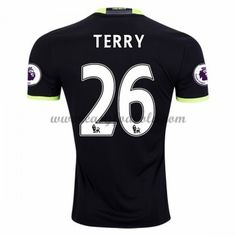 Fodboldtrøjer Premier League Chelsea 2016-17 Terry 26 Udebanetrøje