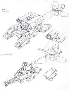 UC Tank MLRS and AA variants by TugoDoomER on deviantART