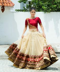 Wedding Wear Maroon Lehenga-Choli  Visit@ www.indianethnicjewelry.com