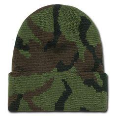 Digital Marpat Military Green Camo Tubular Multi Function head wear Beanie Cap