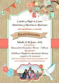 Rustic Vintage wedding invitation - Bautrimonio - Bautizo y Matrimonio Invitaciones
