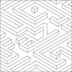 isometric typography: