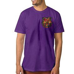 Fashion Men's T-shirt Futbol Club B Logo XL Purple - Brought to you by Avarsha.com
