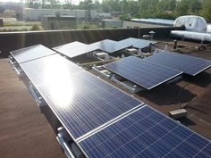 We just completed this installation in Fort Erie! 10kW, flat roof.