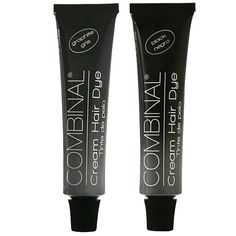 Combinal Cream Hair Dye Set (Graphite and Black) .5 oz each ** Visit the image link more details.