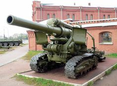 The 203 mm howitzer was a 8 inch Soviet heavy howitzer - English Ww2 Weapons, Military Weapons, Self Propelled Artillery, Army Humor, Steampunk Artwork, Military Memes, Tank Destroyer, Ww2 Tanks, World Of Tanks