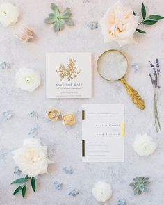 """Repost I spy, with my little eye. some seriously pretty gold foil. """"Elegance Illustrated"""" save the date Wedding Stationery Inspiration, Wedding Invitation Design, Wedding Stationary, Wedding Inspiration, Wedding Paper, Wedding Cards, Wedding Bells, Different Wedding Ideas, Country Club Wedding"""