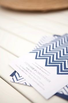 Obsessed with this chevron letterpress