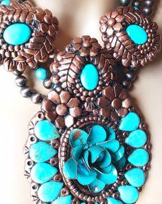 Maverick Rose Jewelry one-of-a-kind necklace! Inquire at wwww.maverickrose.com
