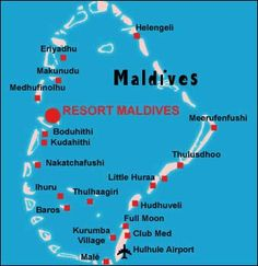 Location of Maldives on World Map   Maldives in 2019   Where is ...