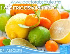 La vitamina C previene la formación de arrugas. Consume cítricos, tomates y fresas. #SinQuimicos