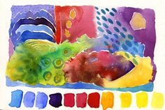 watercolour postcard 5 | Flickr - Photo Sharing!