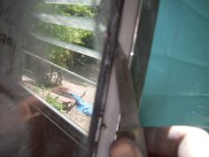 Repairing the windows and cleaning up the trim. The Complete Vintage Travel Trailer Restoration Web Site