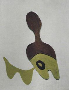 Pez y bigote, 1926 - Jean Arp