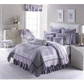 Found it at Wayfair - Lavender Rose Quilt Collection