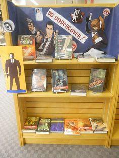 Beneath the Surface (Summer Reading 2013): Teen Spy Display