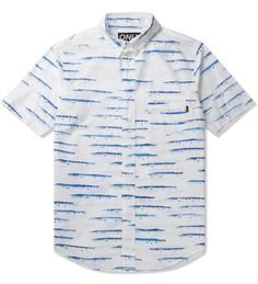 White Barracuda S/S Shirt