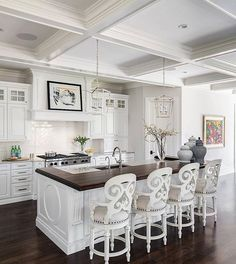 white with dark wood floors