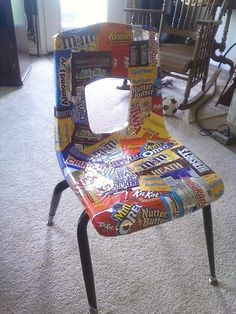 good idea for other things to add to the chair ... depending on child!!