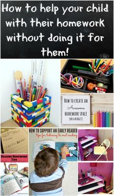 How to help your child with their homework without doing it for them! Filled…
