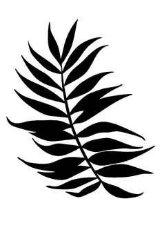 Tropical Leaf Poster new print art wall decor by MottosPrint
