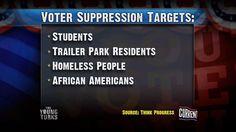 Voter Suppression Targets