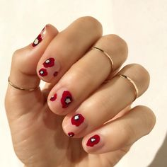 A digital media and commerce company that enables creativity through inspirational content and online classes. Flower Nail Designs, Red Nail Designs, Flower Nail Art, Nail Designs Spring, Funky Nails, Cute Nails, Colorful Nails, Pastel Nails, 3d Nails