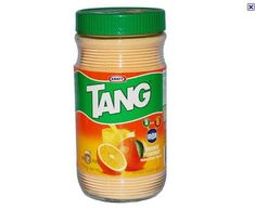 yum. tang, a staple of my childhood in the early 80's.