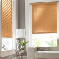 Have you checked the state of your blinds lately? Warm wood blinds and comfort and style. From Sears.