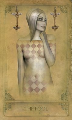 Sepia Stain Tarot: The Fool