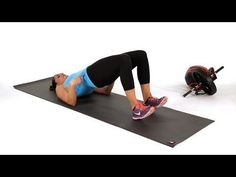 How to Do the Glute Bridge March Abs Workout - Fitness Post Baby Workout, Post Pregnancy Workout, Best Ab Workout, Abs Workout For Women, Ab Workouts, Workout Videos, Workout Fitness, Workout Abs, Pregnancy Abs