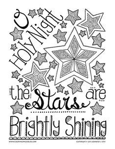 New Christmas Coloring Pages