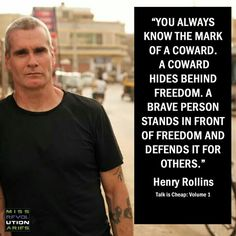 Don't be a Coward....by an active activist......