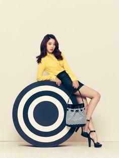Park Shin Hye becomes the new face of fashion brand 'Bruno Magli'   allkpop.com