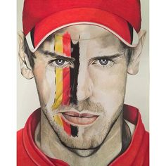 #mulpix Sebastian Vettel portrait by @littlemisscrafty, great job! 👏👏  #f1  #formula1  #formulaone  #vettel  #ferrari  #germany  #portrait  #drawing  #illustration  #art  #racing  #motorsports  #2016