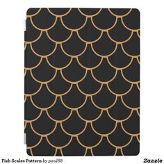 Fish Scales Pattern iPad Cover