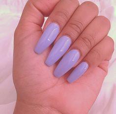 Purple #nails #acrylic #long