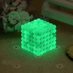 [US$14.99] 216PCs 5mm Magic Strong Fluorescent Buck Ball Creative Magnet Imanes Fun Magnetic Stress Relive Toy With Box #216pcs #magic #strong #fluorescent #buck #ball #creative #magnet #imanes #magnetic #stress #relive